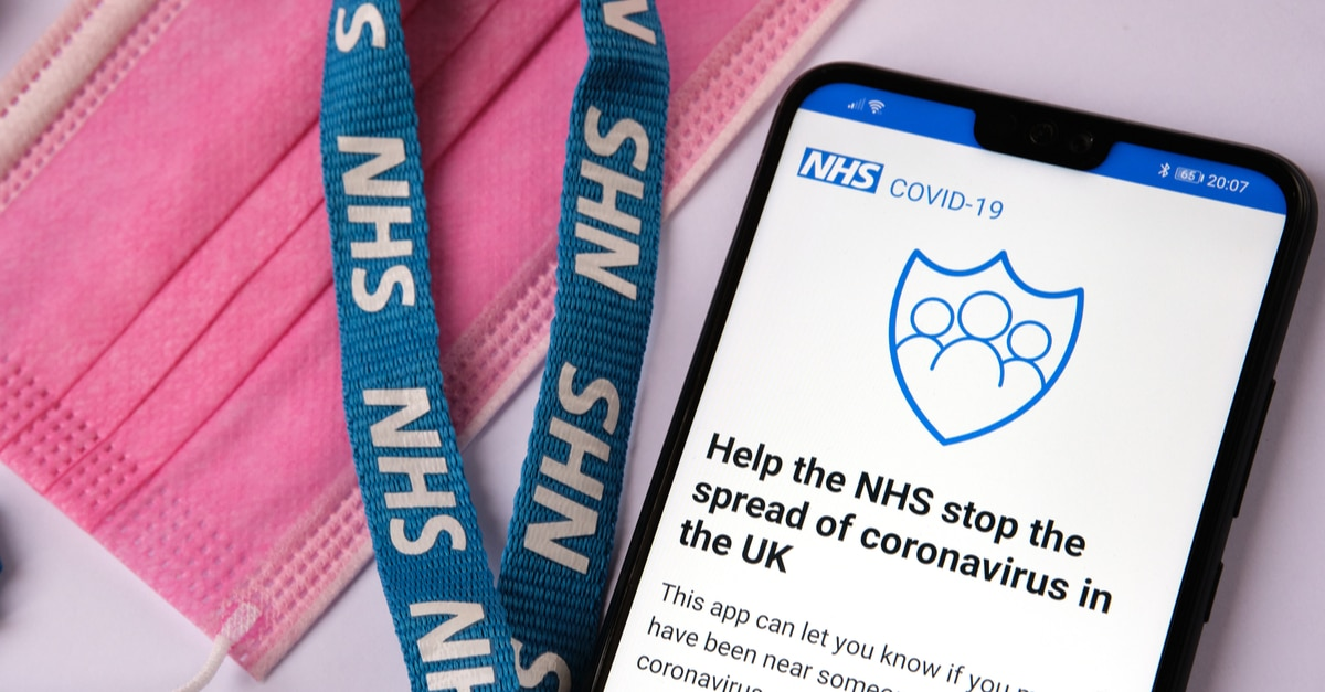 Remember to check in with the NHS COVID-19 app