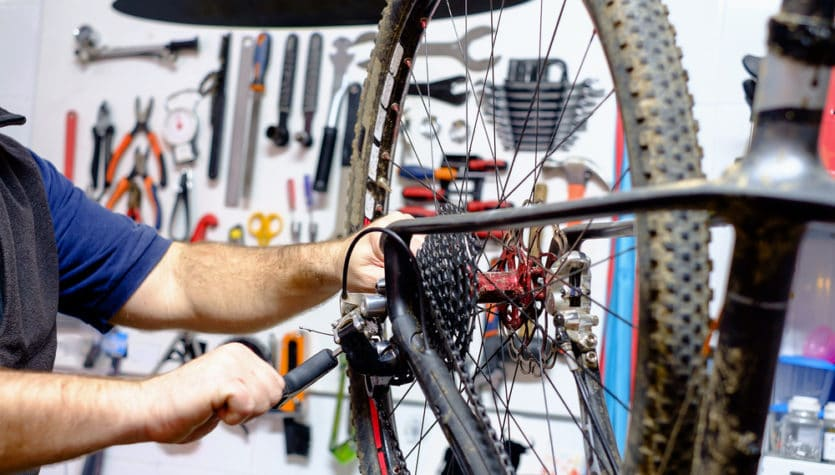 geared up cycles free bicycle service for sap tenants